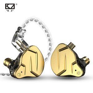 KZ ZSN PRO X Металлические наушники 1BA + 1DD серьезные гибридные технологии высокой верности на монитор спортивный телефон с ограниченным шумом
