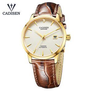 Saatı Cadisen Erkekler İzle 2021 Bilek Ünlü Erkek Saat Otomatik Gerçek Elmaslar Relogio Masculino