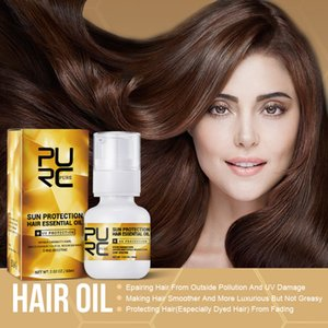 PURC UV Sun Protection Hair Essential Oil Spray 60ml Smooth Nourish Styling Repair Hairs Care Products