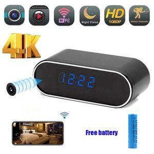 Mini Cameras Wifi Camera HD Clock Recorder Security Night Vision Motion Detect Camcorder HFD Micro Kamera Espia