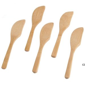 Wooden Butter Knife Pastry Cream Cheese Butter Cake Knife Cake Decorating Tools Fast Shipping DHA9114