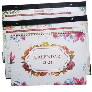 2022 Calendar Hang Wall Creative Work Note New Year Plan Daily Monthly Planner Schedule Office School Calendars Supplies wzg TL0716