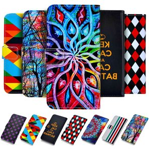 Painted Wallet Leather Case Pocket Cover Coque For Blackview P2 Lite A60 A7 A80 A9 A90 A100 Bv5500 5900 6300 9600 Pro Plus