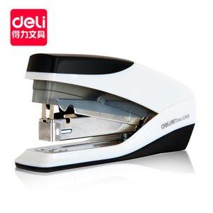 Deli 0368 labor saving stapler single finger easy binding 20 office stationery