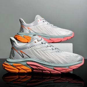 New Spring 2021 and Summer Youth Basketball Men's Large Student Super Lightweight Breathable Deodorant Sports Running Shoes I2SD