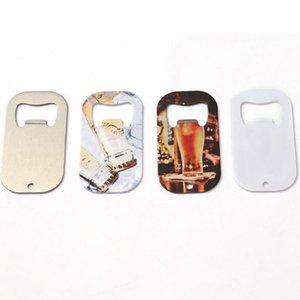 Заводские заводские заготовки теплопередачи металлический белый Silve opener бутылки DIY Сублимационные собака подвесной защитный цинковый сплав штопор