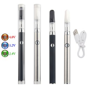 Max Preheat Vape Pen Starter kit 350mAh Bottom Charger Battery .5ml 1ml Ceramic Coil Cartridge Empty Vaporizer e cigarette électronique For thick oil