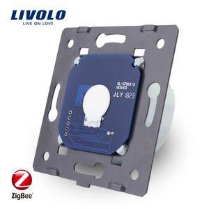 Livolo Base Of Touch Screen Zigbee Switch Wall Light Smart Switch ,Without The Glass Panel ,Eu Standard ,Ac 220 ~250v ,Vl -C701z T200605