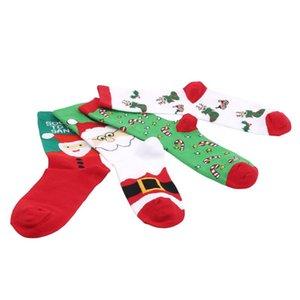 Men's Socks Christmas Santa Claus Gift Cotton Happy 2021 Autumn Winter Men Funny Year