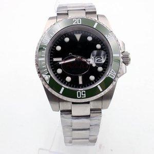 YZ Factory Watch SUB Ceramic Bezel Kermit Dial Sapphire Date 41mm Automatic Mechanical Stainless Steel Mens Men 116610 126610LV Wristwatches