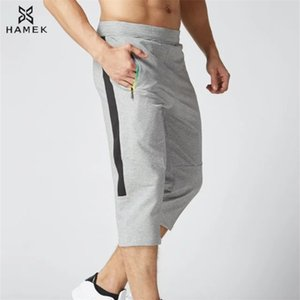 Arrival 3 4 Men Running Pants Cotton Zip Soccer Training Pants Breathable Gym Jogging Fitness Leggings Pants Trousers L T200326