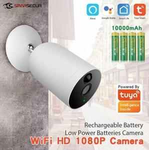 Tuya Smart Life WiFi IP Câmera 1080P Home Segurança Mini Visão Noturna Infravermelho Duas Camisas de Áudio