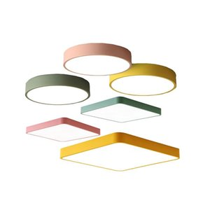 Ceiling Lights Round  square Ultra-thin LED Lighting 27w 36w 48w 64w 72w 80w Lamps The Living Room Lamp High 6cm