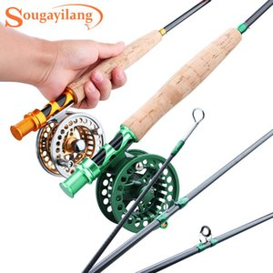 Sougayialng Fishing Rod 2.7M Set #5 6 Pole And Metal Reel Combo With Lures Line Tackle Tools
