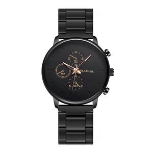 Men Watch Fashion Reloj De Hombre Sport Calendar Male Clock Stainless Steel Watchbands Luxury Quartz Wristwatch Erkek Kol Saati