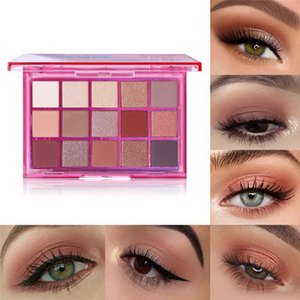 Sweet Party Eyeshadow Pallete Neon Makeup Palette 15 Shimmer Glitter Matte Shades Matellic Nude Blendable Pigment Powder