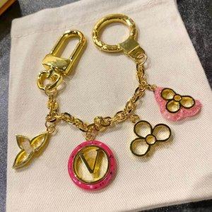 أزياء زهرة تصميم المفاتيح سحر خواتم مفتاح للرجال والنساء حزب عشاق هدية كيرينغ مجوهرات HB