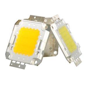 10/20/30 / 50/70 / 100 W DC 12 V 36 V COB LED Çip Lambası Ampul Cipsi Spot Işıklandırmalı Bahçe Kare Entegre Işık LED Boncuk