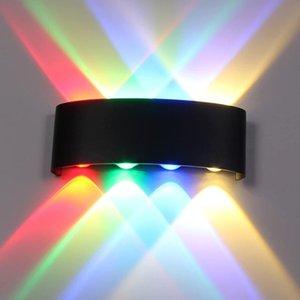 Wall Lamps IP65 LED Lamp Outdoor Waterproof Garden Lighting Aluminum AC86-265 Indoor Bedroom Living Room Stairs Mount Light