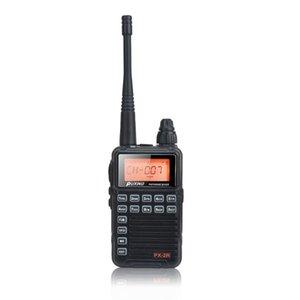 Radio Puxing PX-2R Мини-компакт 400-470 МГц UHF Однополосная передача, VHF Двойной прием 2W FM VOX Walkie Talkie