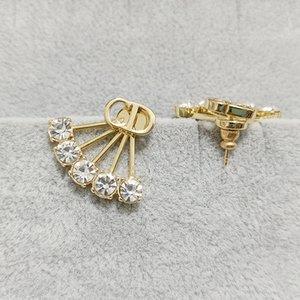 family letter women's fashion earrings 2021 new alternative S925 silver needle anti allergy Fashion Earrings