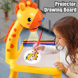 Projection board, led for children, Montessori desktop painting, educational writing board, toys for boys and girls