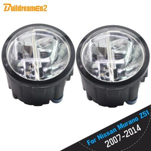 Other Lighting System Buildreamen2 For 2007-2014 Murano Z51 Closed Off-Road Vehicle Car LED Fog Light Daytime Running DRL 12V Styling
