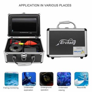 Fishing Camera Set 7 Inch 1200TVL 4500MA 1280*720PX HD Night Vision Underwater For Fish Finder Outdoor