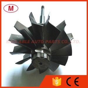 HX40 67 76mm 67X76mm 12 blades Ball Bearing Turbocharger Turbo Turbine Shaft &Turbine Wheel
