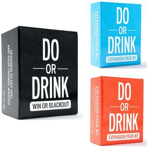 Do or Drink Party Card Game for College Camping 21st Birthday Parties Funny for Men and Women