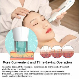 Rechargeable Hydrapen H2 with 10pcs needle Self-inking Stamp Skin Serum Dermapen Electric Dr.pen Ultima Microneedle Hydra Pen
