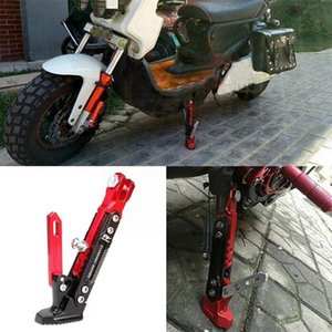 Other Motorcycle Parts Adjustable Kickstand Foot Side Stand CNC Aluminum Parking Kick Motorbike Bracket Alloy O1W5
