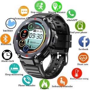 Gejian 2021 New Smart Watch Smartwatch Men Full Screen Touch Blood Pressure Heartbeat Meter Bluetooth Call Music Player