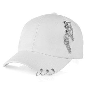Baseball Cap with Ring Snapback Trucker Hat Dad Women's Men's Sun