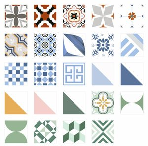 Color small flower tiles 300X300mm ceramic tile toilet balcony kitchen floor porch background wall brick