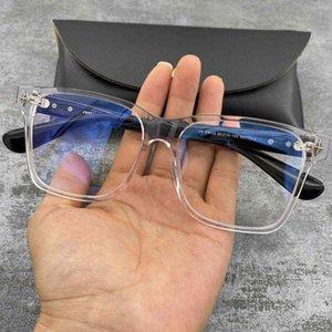 Crosin-Platte Großer schwarzer Rahmen Normalglas für Männer und Frauen Luxus Marke Herren Womens de Sol Polarizadas Gradient Trendy Fahren Retro Sonnenbrille UV400