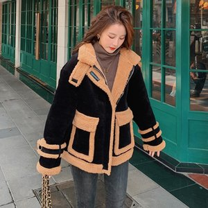 2021 winter parka corduroy down padded jacket women's fan Korean style slimming cold-proof clothes warm hooded padded coat