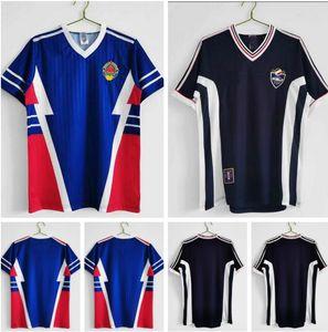 Copa Mundial Yugoslavia Retro Jersey Jersey Home and Weew, 1990 1998 1999 2000 MIJatovic Savicevic # 9 Milosevic # 10 Stojkovic Vintage Classic Football Shirts