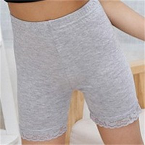 Bambini Modal Cotton Shorts Fashion Pizzo Leggings corti per ragazze Pantaloni di sicurezza Baby Collant Short Tights Girls Pantaloni di sicurezza Pantaloncini Antilight 356 K2