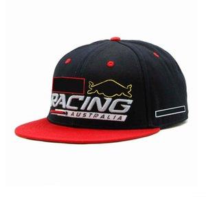 F1 racing caps, embroidered logo baseball cap, fashionable men's and women's sun hats