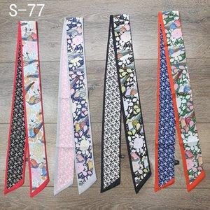 2021 Designer Headband Luxury Marca Lenço De Moda Coringas Projetado para as mulheres, o tamanho é 6 * 100 cm