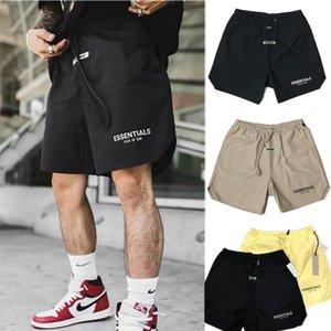 Tide Brand Designer Sports Fitness Stretch Shorts Мужские спортивные колена Длина брюки повседневная негабаритные хлопковые брюки M-XXL