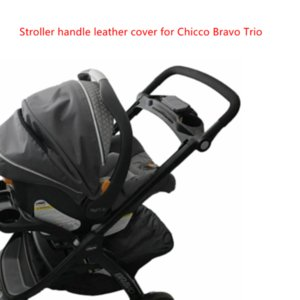 Stroller Parts & Accessories Pram Leather Pu Handle Cover For Bravo Trio Bumper Protective Cases Armrest Covers Carriage