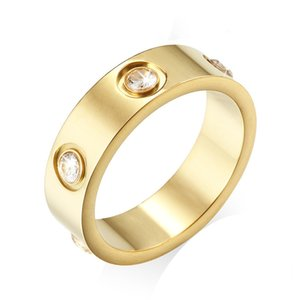 Designer Diamond Love rings women men Screw ring Party Wedding Couple Gift Love Fashion Luxury Carti with box vcfggh 299