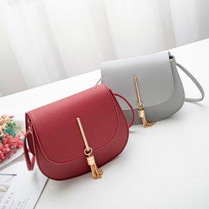 Designer Shoulder Bags Women Girls Handbag with Tassels PU Leather Mini Crossbody Messager Bag Korean Style Totes Phone Pouch Gift 1579 B3