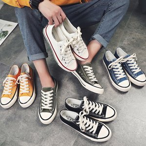 Five star 1970 canvas lovers low top Korean fashion men's women's board vulcanized shoes