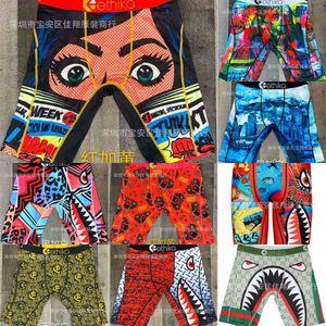2021 Men's Designers Boxer Brands Beach Shorts Fashion Cartoon Shark Face Swimming Short Pants Riding Biker Quick Dry Sports Short Leggings Swim Clothing G4E0ELW