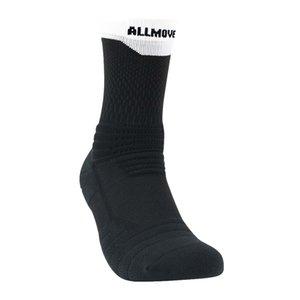 socks Allmove elite basketball towel bottom high top socks