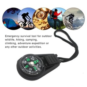 10pcs Wrist Backpack Lanyard Type Compass Thermometer Climbing Portable Waterproof Outdoor Camping Survival Equipment Gadgets