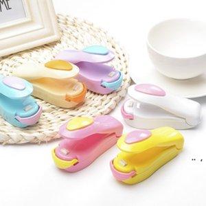 Кухонные инструменты Creative Portable Mini Pocket Home Уплотнительные машины Закуски Сумка Уплотнитель Тепла Вакуум Resaler Cilps Handy BWD5629